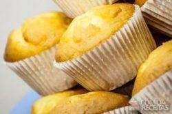Muffin de aveia e banana