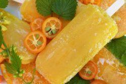 Picolé de laranja