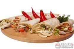 Burrito de cogumelo