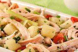 Salada de peru refrescante
