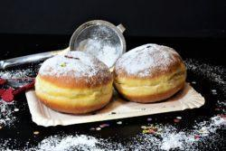 Sonho de padaria recheado