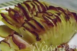 Batata assada com bacon especial