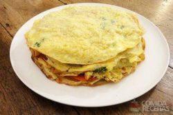 Omelete provençal