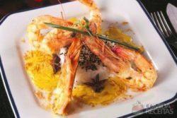 Foto: Chefs Cesar Souza e Riccardo Faiella da Olivetto Gastronomia e eventos