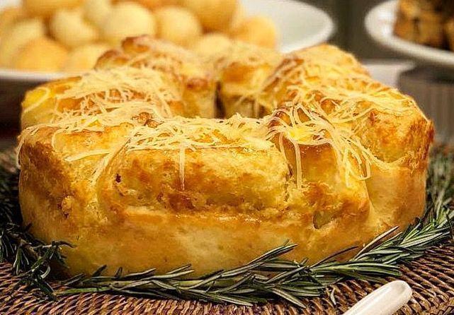 Rosca de queijo