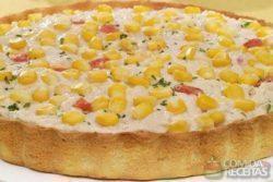 Torta de frango e milho especial