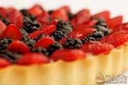 Torta de frutas vermelhas especial