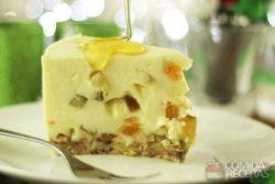 Cheesecake de panetone diferente