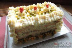 Torta fria de frango especial