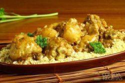 Frango com batata e cebola diferente