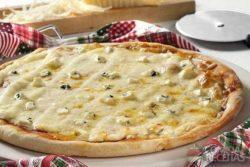 Pizza quatro queijos especial