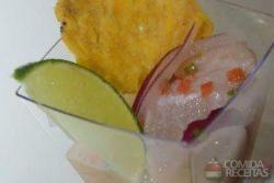 Ceviche de peixe especial
