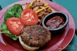 Foto: Livro Veggie Burgers da Editora Alaúde
