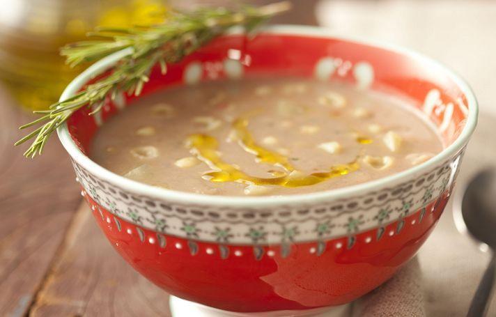 Sopa prática de feijão