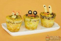 Muffin omelete