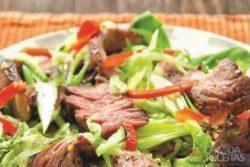 Super salada de churrasco