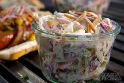 Salada de brócolis e funcho