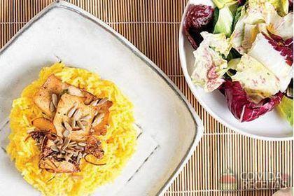 """Foto: Livro """"Escola de Cozinha Vegetariana"""", da Editora Alaúde"""