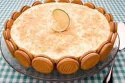 Cheesecake de limão especial Zabet