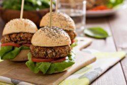 Hambúrguer Vegetariano diferente