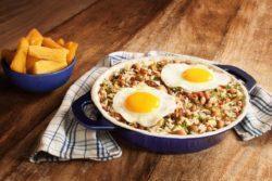 Mexidão de arroz e feijão