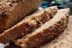 Pão integral diferente