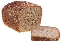 Pão multigrãos sem glúten e sem lactose