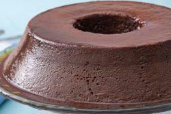 Pudim de chocolate perfeito