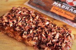 Costelinha na crosta de bacon