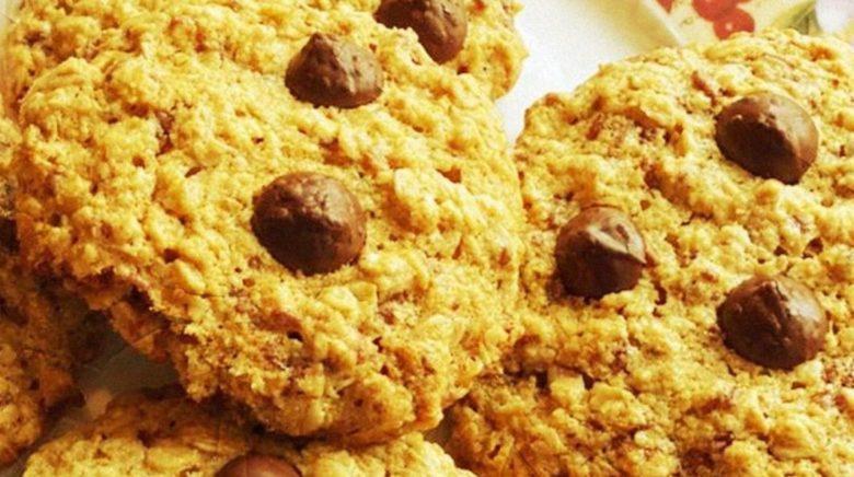 Cookie de chocolate sem lactose