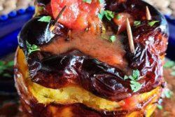 Pimentão recheado com camarão