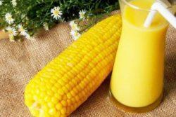 Suco de milho cremoso