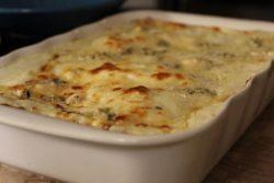 Lasanha 4 queijos especial