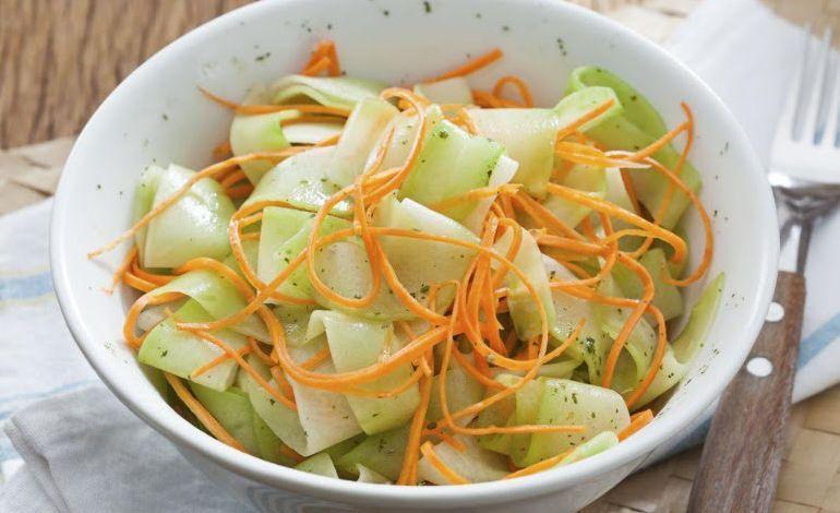Salada de chuchu diferente