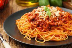 Espaguete à bolonhesa express