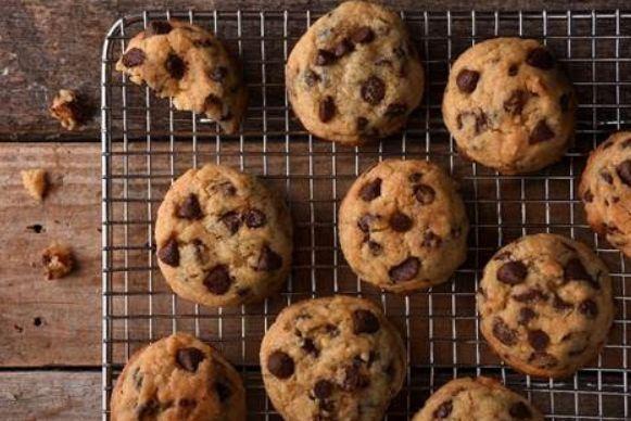 Cookie recheado com choco chips