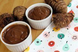 Chocolate quente e inhame