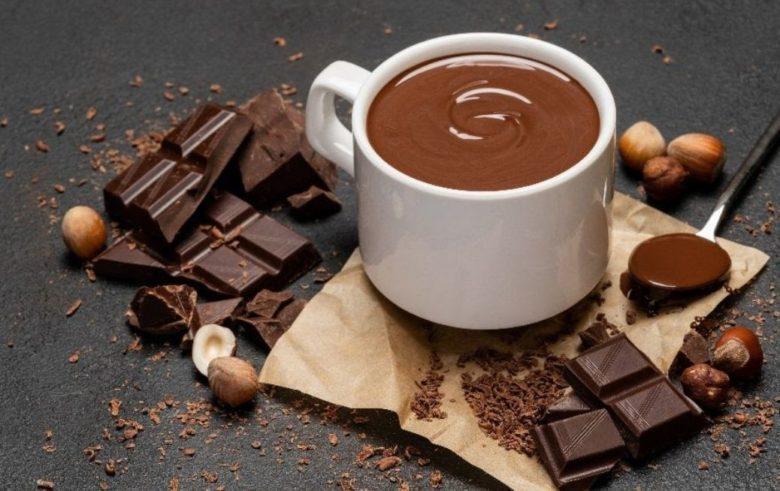 Chocolate quente cremoso especial