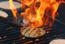 Hambúrguer para churrasco