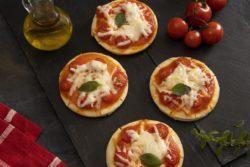 Mini pizza marguerita na airfryer