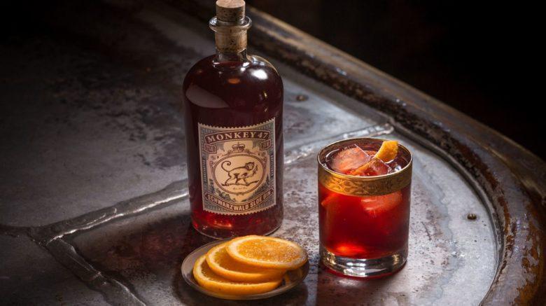 Drink Sloe Gin Negroni