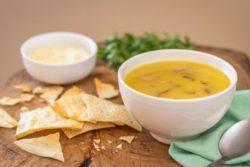 Sopa creme de queijo especial