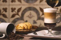 Irish coffee com vodka