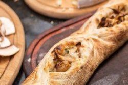 Pão napolitano de cogumelo