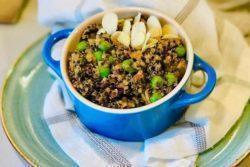 Risoto especial de quinoa