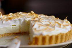 Torta de limão gourmet