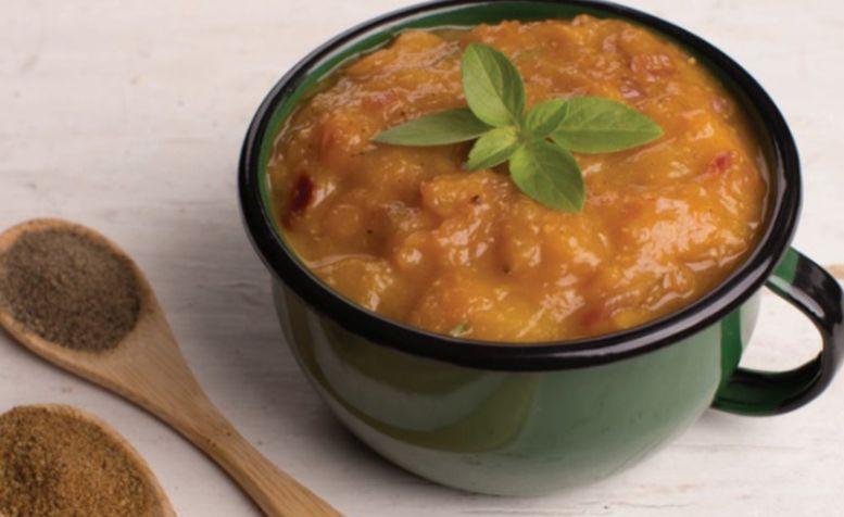 Chutney de manga, pimenta e cominho