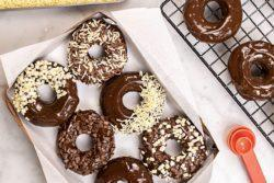 Donut de chocolate diferente