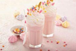 Milkshake especial de frutas