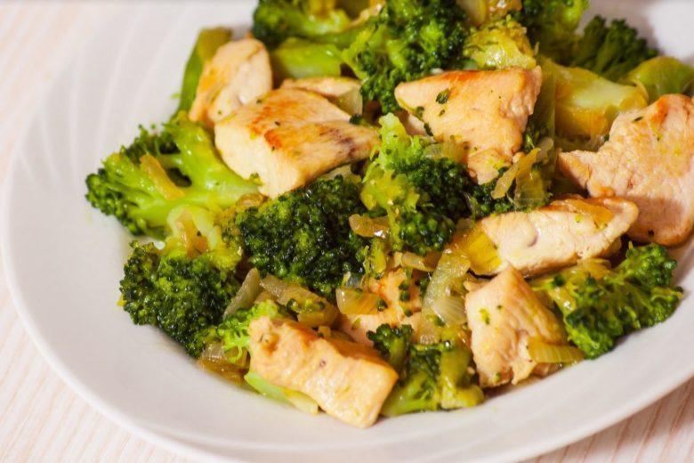 Quinoa com brócolis